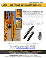 170 Pound Automatic Hammer