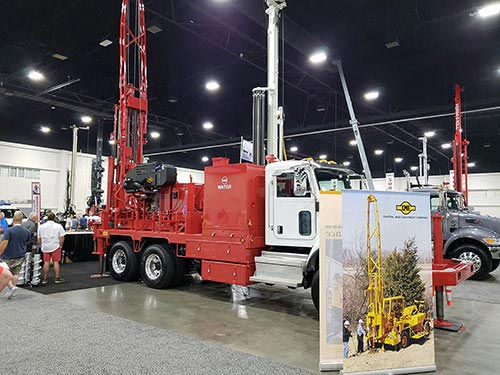Central Mine Equipment Company Display at 2019 South Atlantic Jubilee