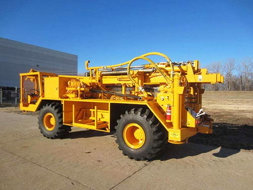 CME-1050 Rubber Tire ATV Mounted Auger Drill Rig