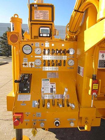 CME-1050 Rubber Tire ATV Mounted Drill Control Panel