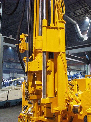 CME-1050 Rubber Tire ATV Mounted Drill Hydraulic Hammer
