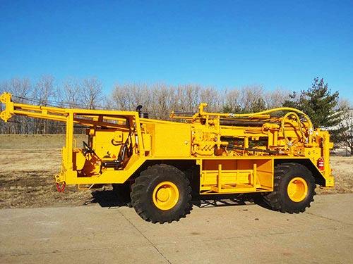 CME-750X Rubber Tire ATV Mounted Drill