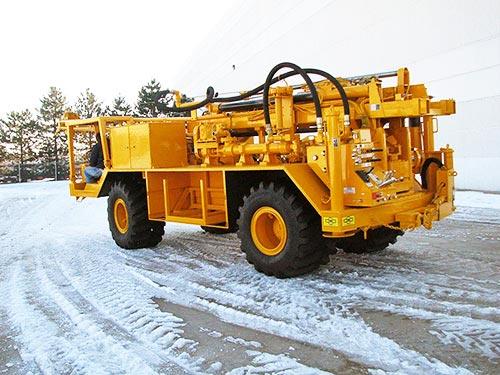 CME-1050 Rubber Tire ATV Mounted Drill