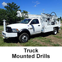 Truck Mounted Drills