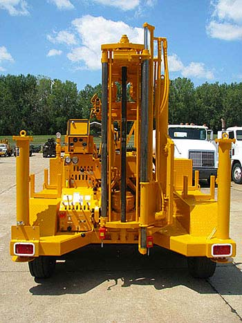 CME-45B Trailer Mounted Drill Feed System