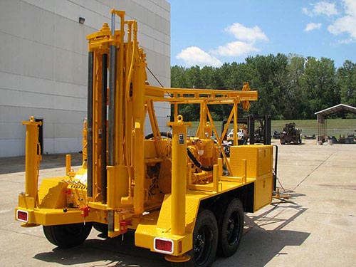 CME-45B Trailer Mounted Drill Hydraulic Hammer