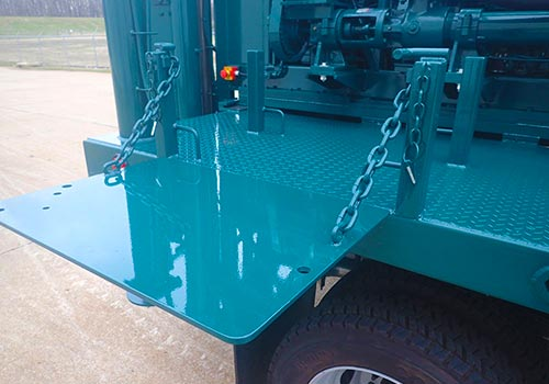 CME-45B Truck Mounted Drill Work Table