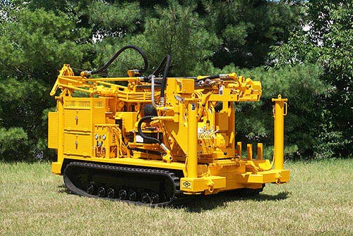 CME-45C/300 Track Carrier Mounted Auger Drilling Rig