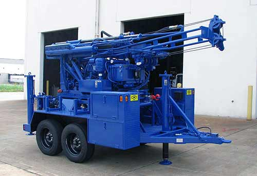 CME-45C Skid Mounted Drill