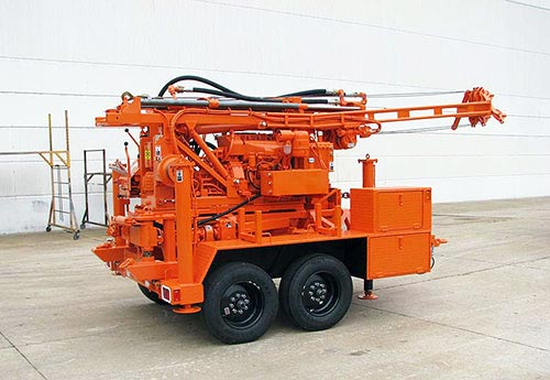 CME-45C Skid Mounted Auger Drill Rig