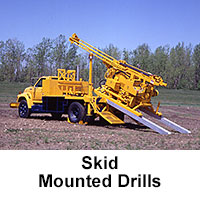 Skid Mounted Drills