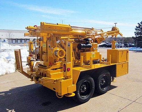 CME-45C Trailer Mounted Drill