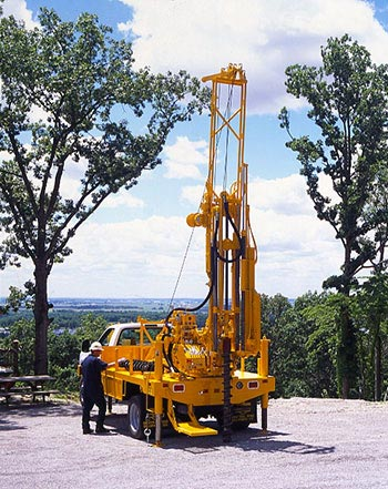 CME-45C Truck Mounted Drill