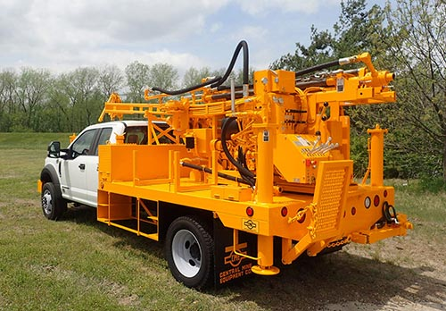 CME-45C Truck Mounted Drill Rig