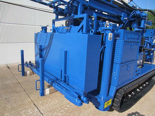 CME-55/300 Track Mounted Auger Rack Telescoping