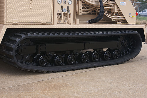 CME-55LC/300 Track Mounted Drill Rubber Tracks
