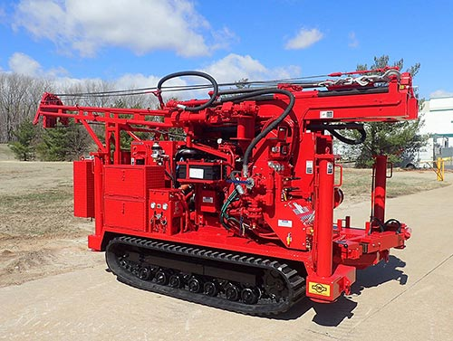 CME-55LCX/300 Track Carrier Mounted Auger Drilling Rig