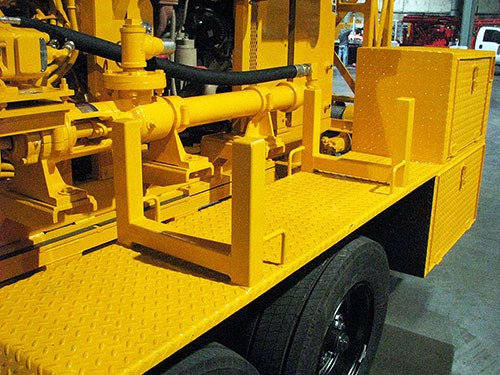 CME-55LCX Trailer Mounted Drill