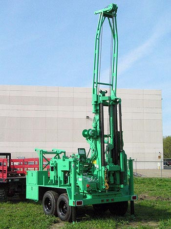 CME-55LCX Trailer Mounted Auger Drill Rig