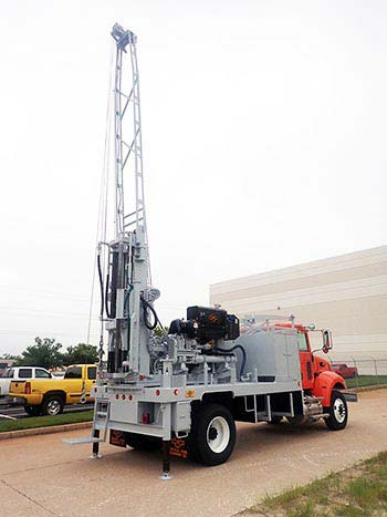 CME-55LCX Auger Drill Rig