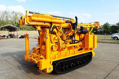 CME-55LC/300 Track Carrier Mounted Auger Drill Rig