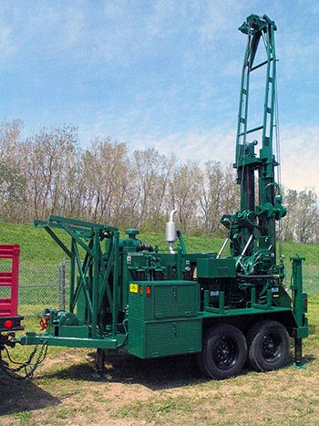 CME-55LC Trailer Mounted Drill