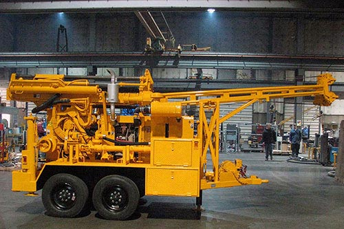 CME-55LC Trailer Mounted Auger Drill Rig