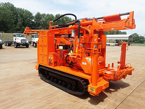 CME-55/300 Track Carrier Mounted Drill