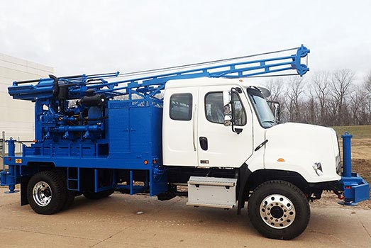 CME-55 Truck Mounted Drill Rig