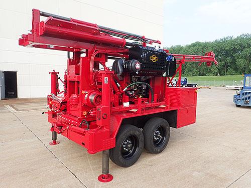 CME-55 Trailer Mounted Drill Hydraulic Hammer