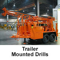 Trailer Mounted Drills