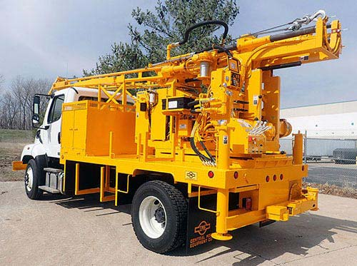 CME-55 Auger Drill Rig