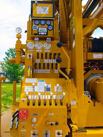 CME-75 Truck Mounted Drill Control Panel