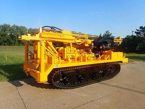 CME-850XR Track Carrier Mounted Auger Drill Rig