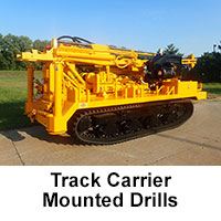 Track Carrier Mounted Drills