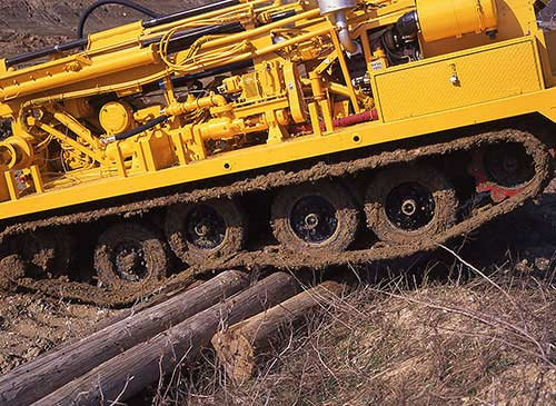 CME-850X Track Mounted Drill Tracks