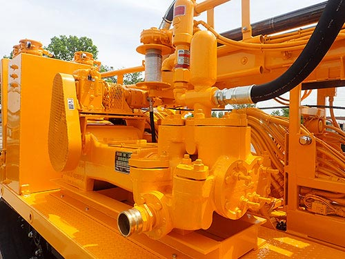 CME-850X Track Mounted Drill Water Pump