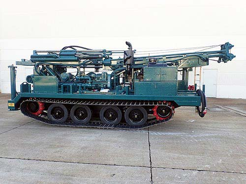 CME-850X Track Carrier Mounted Drill