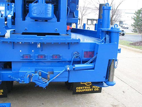 CME-85 Truck Mounted Drill Rig Rod Holder