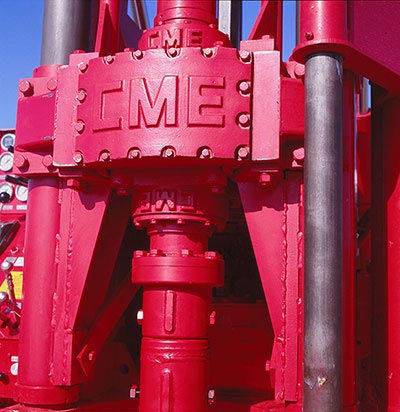 CME-95 Truck Mounted Drill Rig Rotary Drive