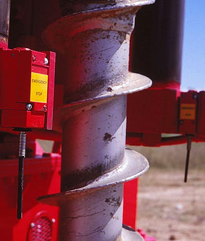 CME-95 Truck Mounted Drill Rig Patented Spindle Brake