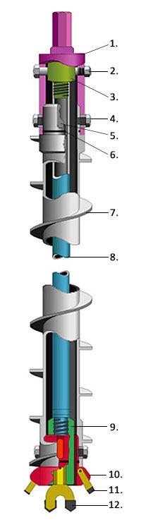 Hollow Stem Auger (HSA)