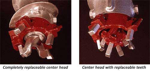 Hollow Stem Auger (HSA) Center Heads