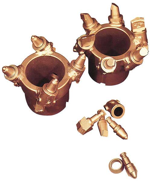 Hollow Stem Auger (HSA) S-Series Cutter Heads