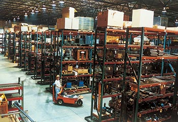 Central Mine Equipment Company Parts Warehouse